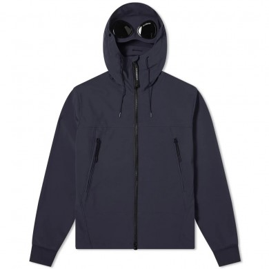 C.P. Company Shell Goggle Jacket Total Eclipse