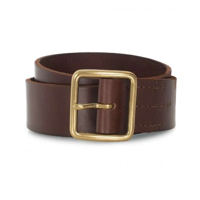 Red Wing 96506 Vegetable-Tanned Leather Belt Dark Brown English Bridle