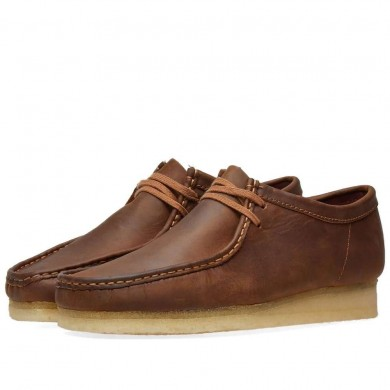 Clarks Originals Wallabee Beeswax Leather