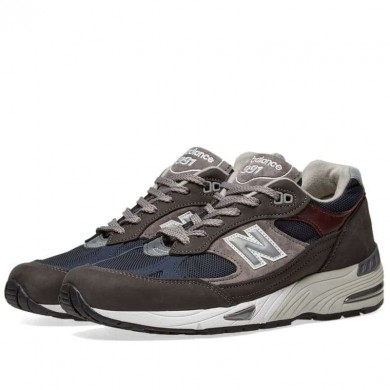 New Balance M991GNN - Made in England Grey & Navy