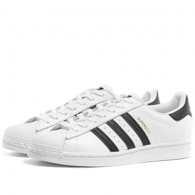 Adidas Superstar White & Black