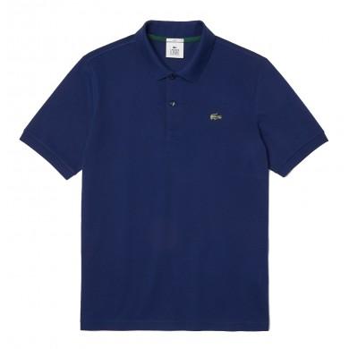 Lacoste Standard Fit Stretch Cotton Piqué Polo Shirt Blue