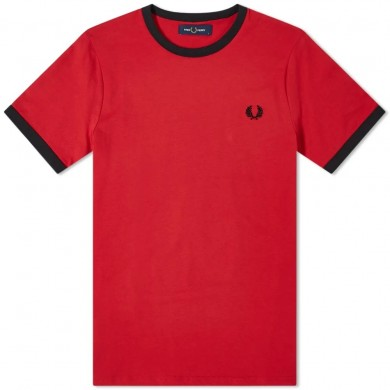 Fred Perry Ringer Tee Blood
