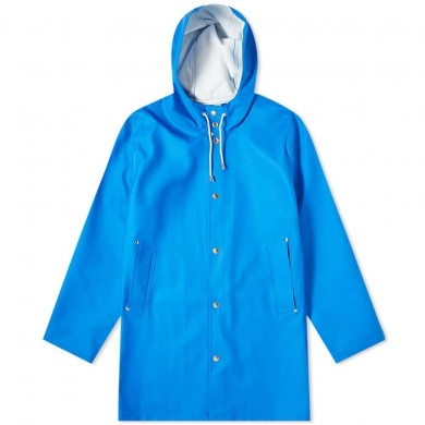 Stutterheim Stockholm Raincoat Electric Blue