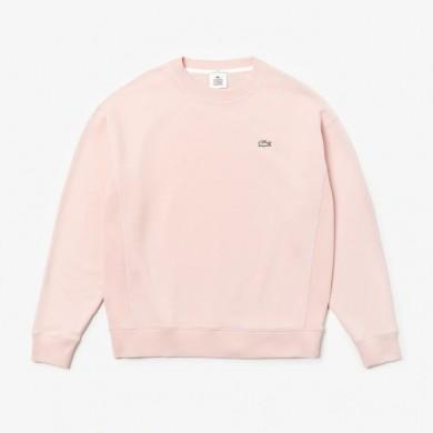 Lacoste Live Cotton Fleece Sweatshirt Light Pink