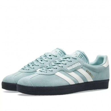 Adidas Gazelle Super Tactile Green, Off White & Carbon