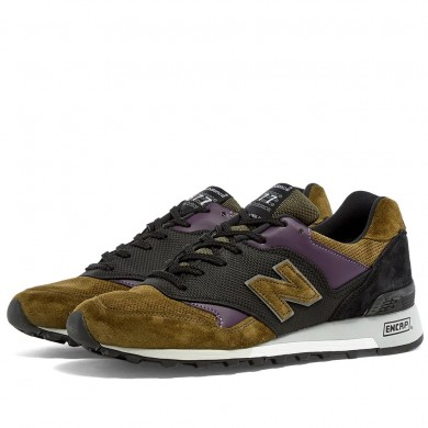 New Balance M577GPK - Made in England Grey, Olive & Purple