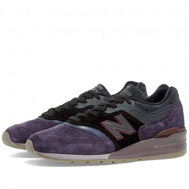 New Balance M997NAK - Made in USA Purple & Black