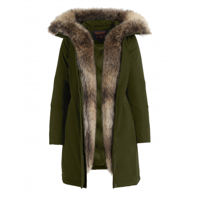 Woolrich W´s Luxury Boulder Coat Dark Green