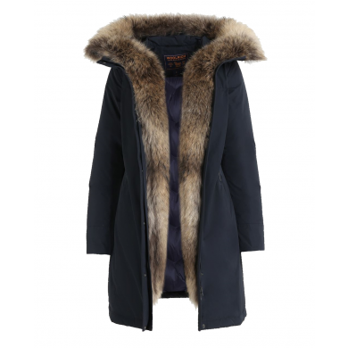 Woolrich W´s Luxury Boulder Coat Midnight Blue