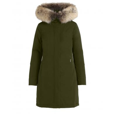 Woolrich W´s Luxury Boulder Coat Dark Green