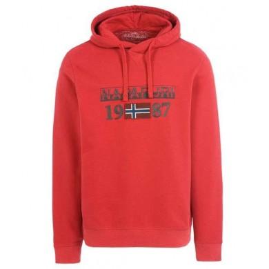 Napapijri Berthow Hood Red