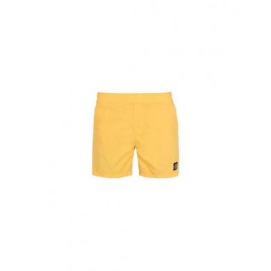 Stone Island B0946 Brushed Cotton Swimming Shorts Yellow