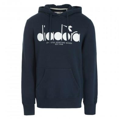 Diadora Hooded Sweat BL Blue Denim
