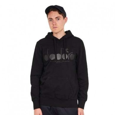 DIADORA Hooded Sweat Black