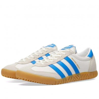 Adidas x Spezial Indoor Kreft SPZL Chalk White & Bright Blue