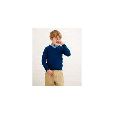 Fred Perry Kids V-Neck Blue