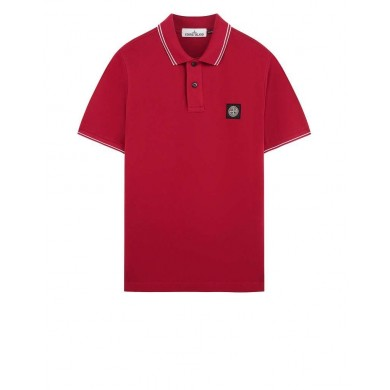 Stone Island 22S18 Patch Program Polo Shirt V0014