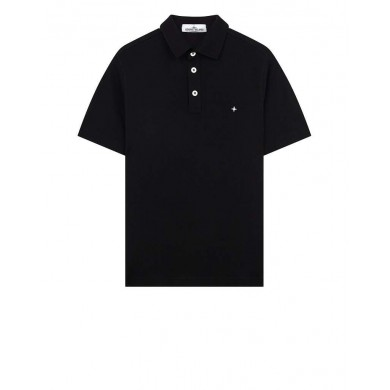 Stone Island 20514 Polo Shirt Black