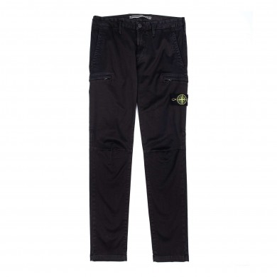 Stone Island Cargo Pants 321L1 T.Co+Old Black