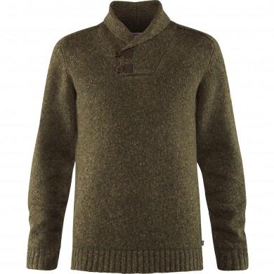 Fjällräven Lada Sweater Dark Olive