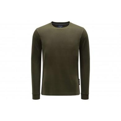 Woolrich LS Heavy Jersey Fleece Green