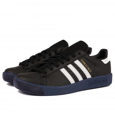 Adidas Forest Hills Core Black, White & Legend Marine