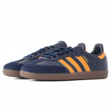 Adidas Samba OG Navy & Orange EE5414