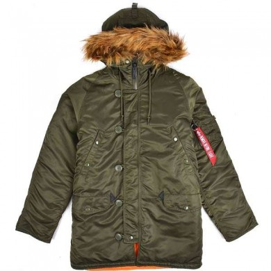 Alpha Industries N3B VF 59 Parka Dark Green