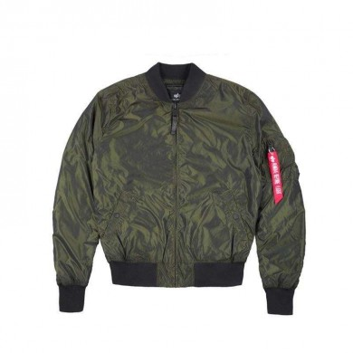 Alpha Industries MA-1 LW Iridium Dark Green