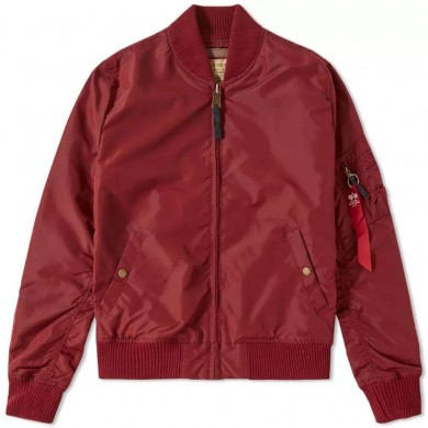 Alpha Industries MA-1 TT Jacket Burgundy