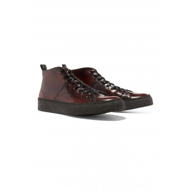 Fred Perry x George Cox Creeper Mid Leather B2273 158