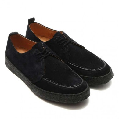 Fred Perry x George Cox Pop Boy Suede Black