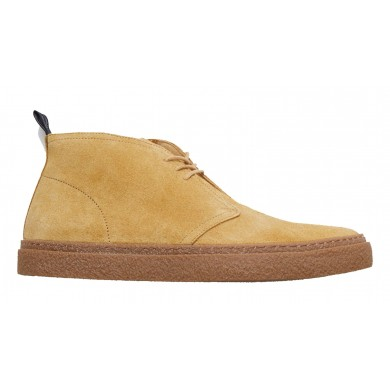 Fred Perry Hawley Suede Boot Chestnut
