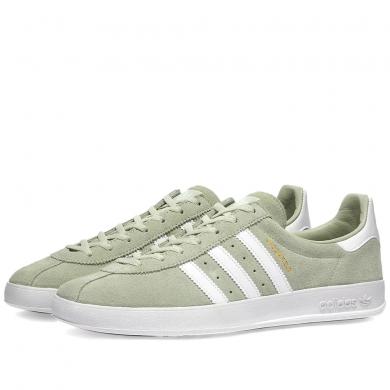 Adidas Broomfield Linen Green, White & Gold Metalic