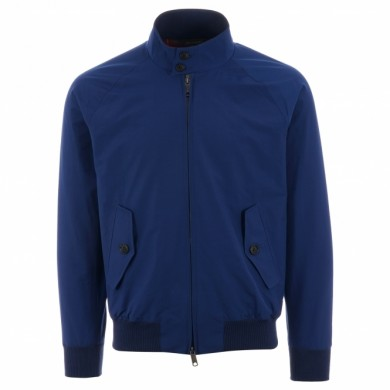 Baracuta G9 Harrington Jacket Cobalt Blue