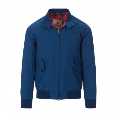Baracuta G9 Harrington Jacket Ocean Blue