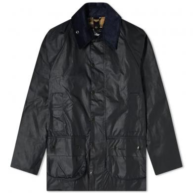 Barbour Beaufort Wax Jacket Navy
