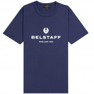 Belstaff 1924 Logo Tee Navy