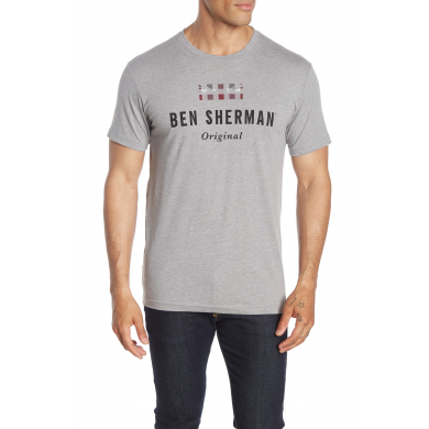 Ben Sherman The Original Tee Grey