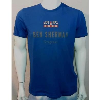 Ben Sherman The Original Tee Bright Blue