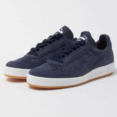 Diadora B.Elite Suede - Made in Italy Navy