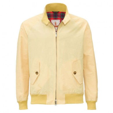 Baracuta G9 Harrington Jacket Straw
