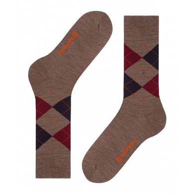 Burlington Edinburgh Socks Pebble (40-46)