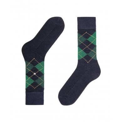 Burlington Preston Socks Navy (40-46)