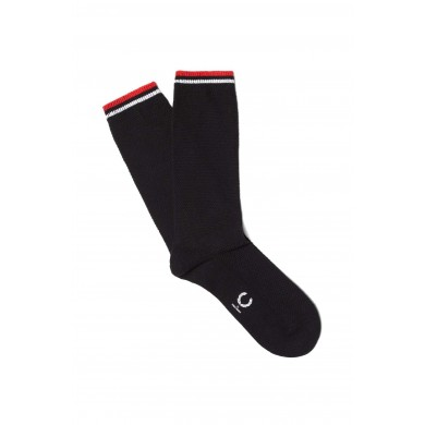 Fred Perry Twin Tipped Socks Black, White & Red (43-47)
