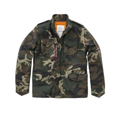 Alpha Industries M-65 Heritage Wood. Camo