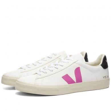 Veja Campo Sneaker White, Ultraviolet & Black