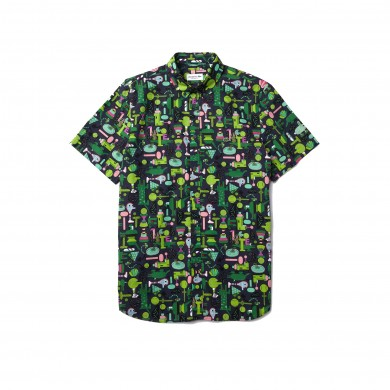 Lacoste x Jeremyville Shirt Navy, Blue & Multicolour