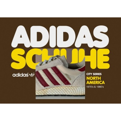 Vintage Adidas Originals Shoes City Series North America Book